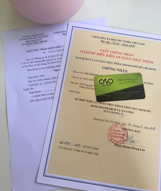 Công bố chất lượng sản phẩm dầu dừa